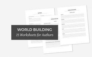World Building Worksheets on Etsy