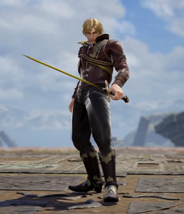 Soulcalibur custom character